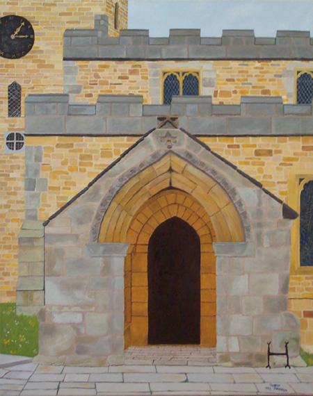 Church in Brampton, Derbyshire