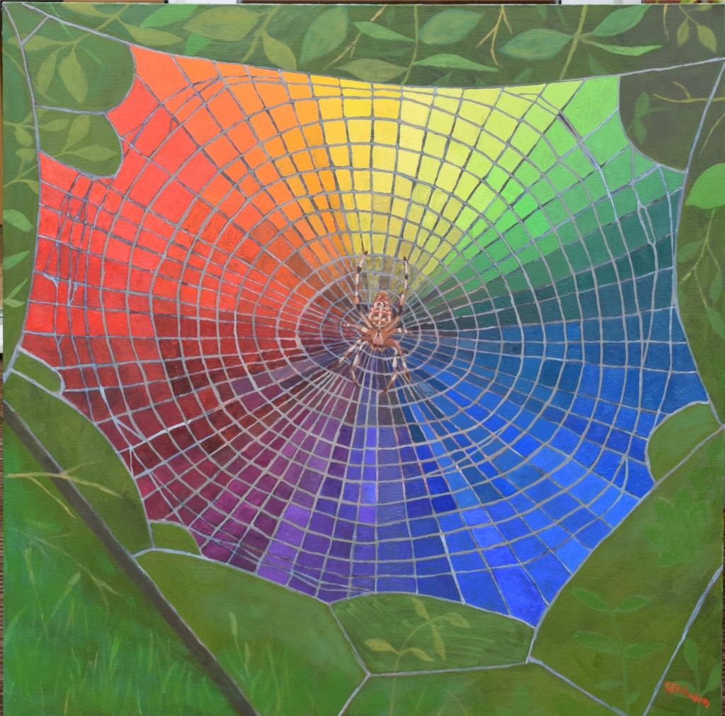 Spider's Web Colour Wheel