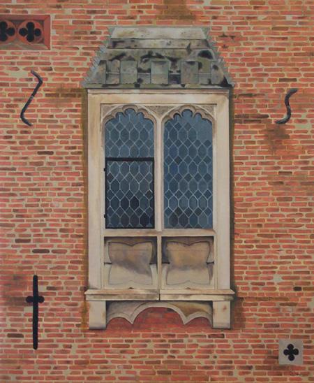 Oxborough Hall medieval window