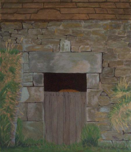 Old stone barn in Derbyshire