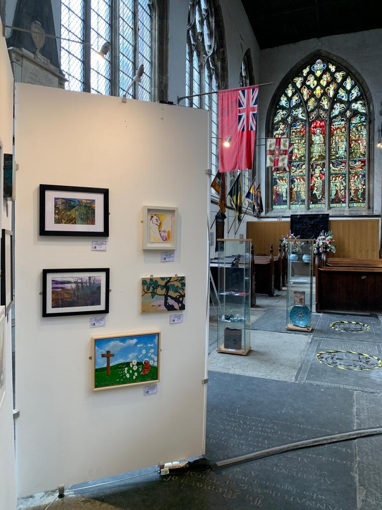 Graham's work on display at Hull Minster