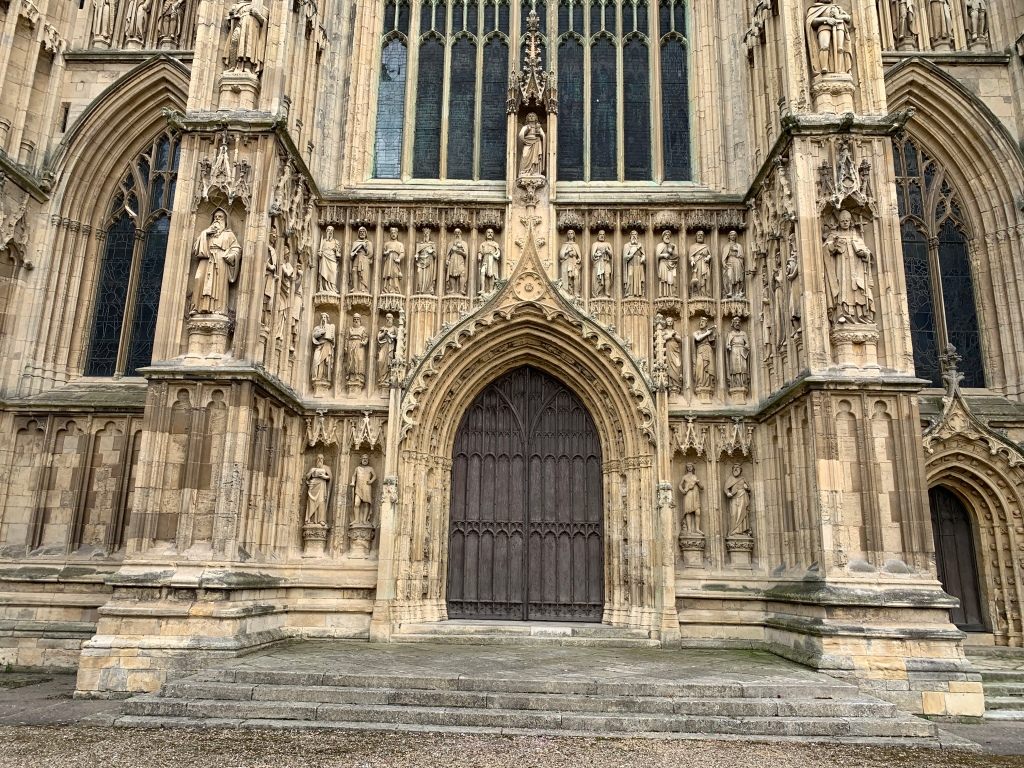 Beverley Minster West Door close up