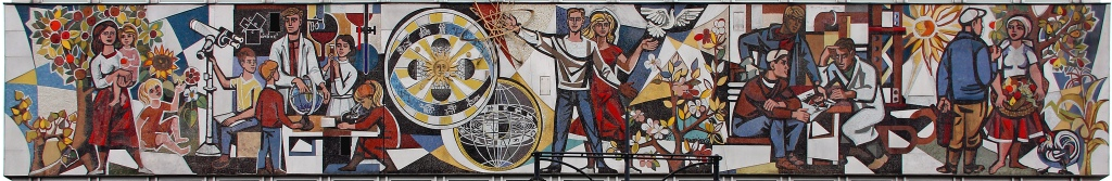 Socialist realist art from Berlin, East Germany